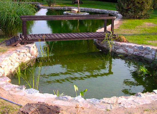 SealEco EPDM GreenSeal Pond Installation